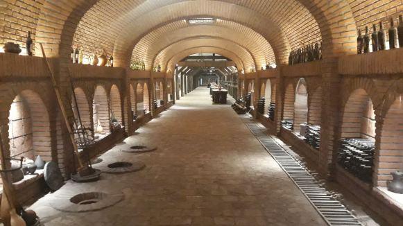 Vinarija Khareba unutrašnjost 2